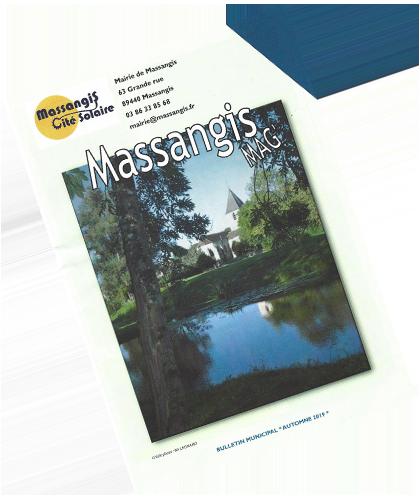 Magazine de la commune de Massangis
