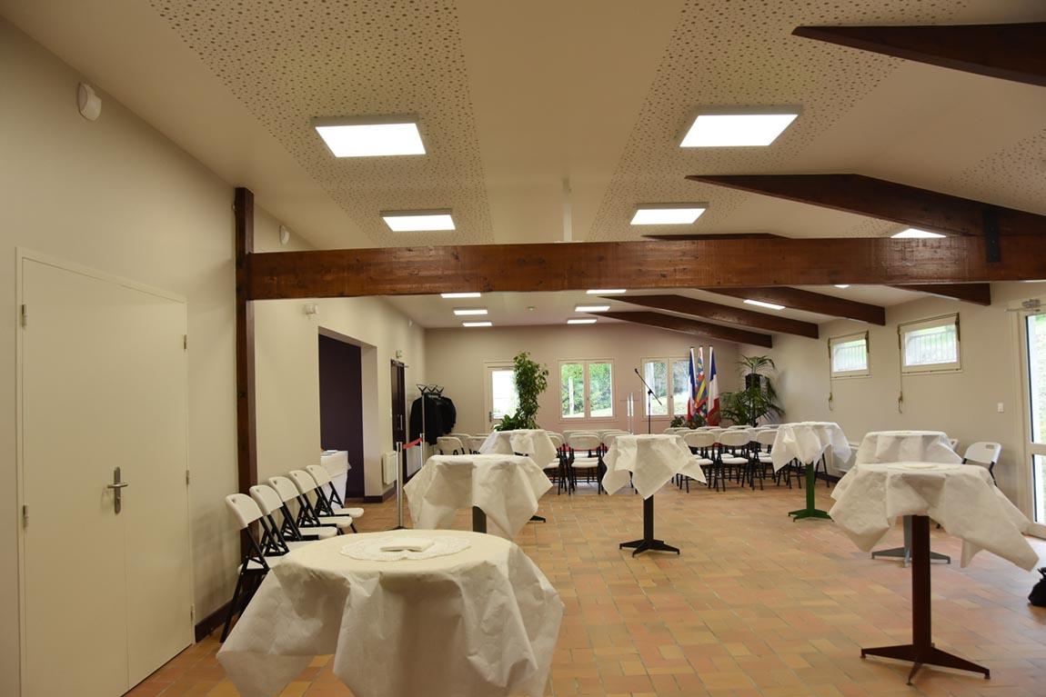 Salle des fêtes de Massangis